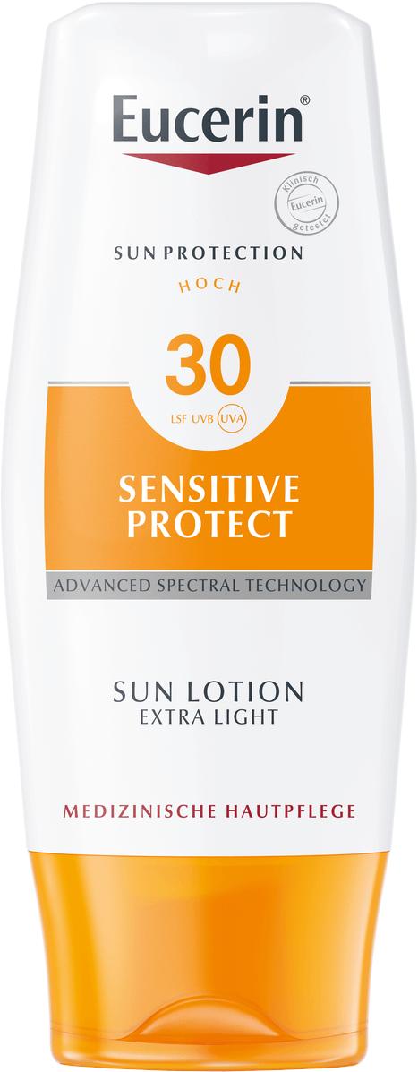 EUCERIN SUN Extra lehké opalovací mléko SPF30 150ml