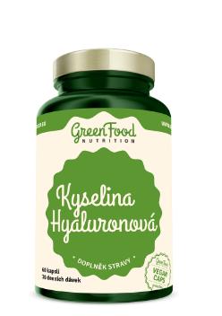 GreenFood Nutrition Kyselina Hyaluronová 60kapslí
