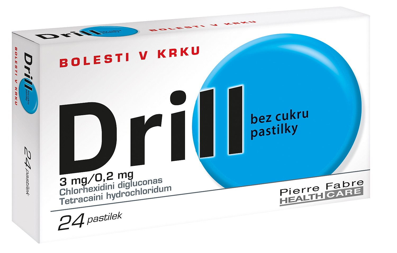 Drill Bez cukru 24 pastilek
