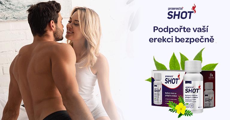 Proerecta shot, bezpečná podpora erekce