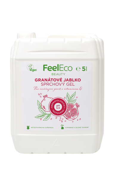 Feel eco sprchový gel - Granátové jablko 5l