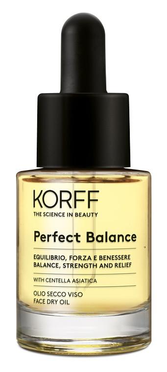 E-shop Korff Perfect balance pleťový suchý olej 15ml