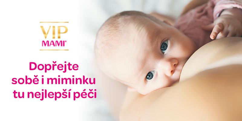 VIP mami Quattro, doplněk stravy, kyselina listová, pro vás i vaše miminko