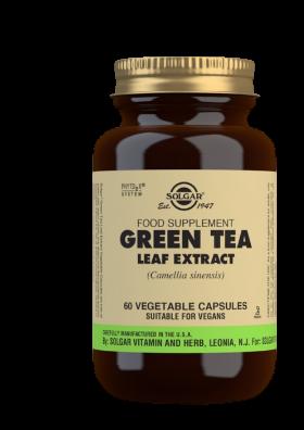 Solgar Green tea – Zelený čaj 50cps