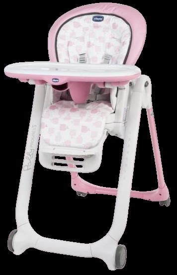 Chicco, Židlička jídelní Polly Progres5 Pink