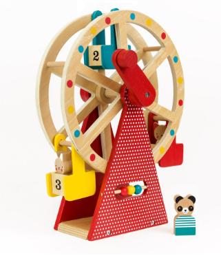 E-shop Petitcollage Dřevěné ruské kolo
