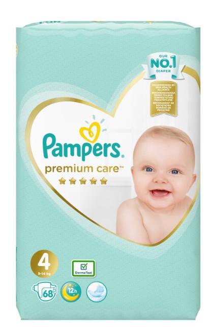 Pampers Premium Care Jumbo Pack S4 (9-14kg) 68ks