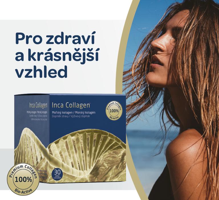 Inka collagen pro zdraví a krásu