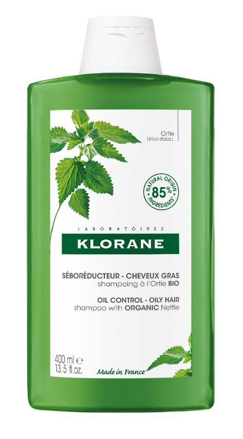 Klorane Šampon s BIO kopřivou mastné vlasy 400ml