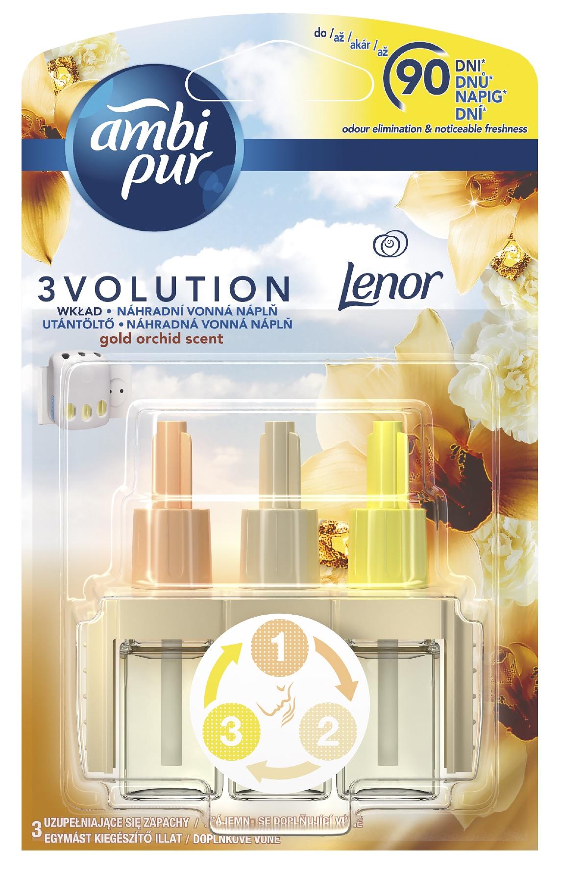 AmbiPur 3Volution Gold Orchid náhradní náplň 20ml