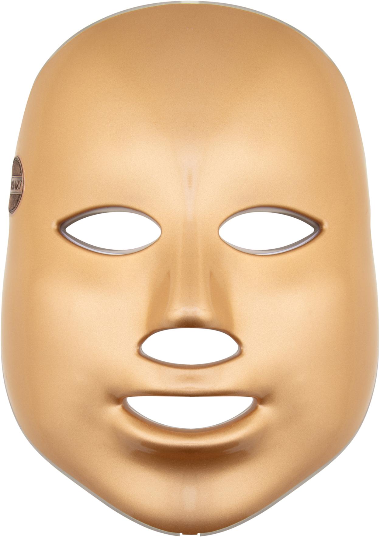 II. jakost Palsar7 Ošetřující LED maska na obličej (zlatá)