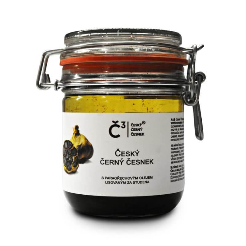 Č³ Český černý česnek loupané stroužky v para oleji 320g