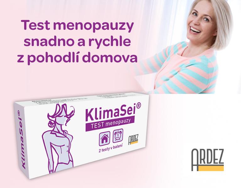 KlimaSei, test menopauzy