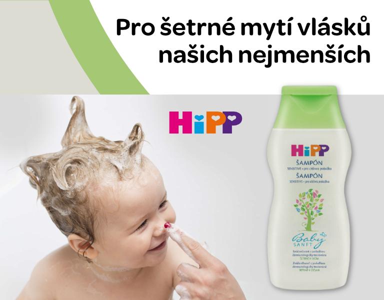 HiPP BABYSANFT Dětský jemný šampon