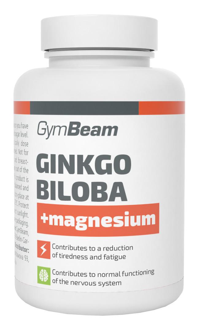 GymBeam Ginkgo Biloba + Magnézium 90 kapslí