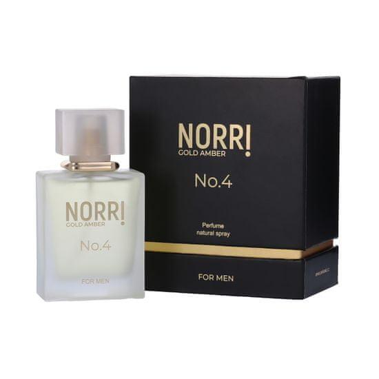 Norri No4 Gold Amber pánský parfém 50ml