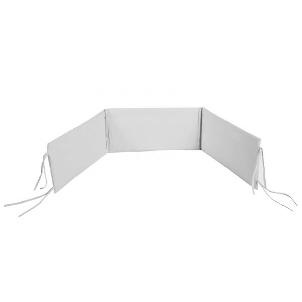 Klups Hnízdo ochranné do postýlky GREY 180x30cm