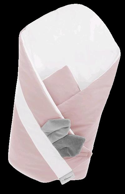 Belisima Zavinovačka Mouse růžová