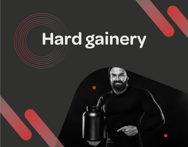 Hard gainery, co je to gainer, gainer co je to