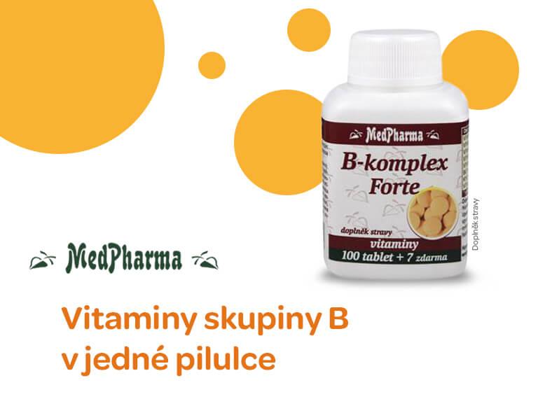 MedPharma B-komplex Forte 107 tablet, banner