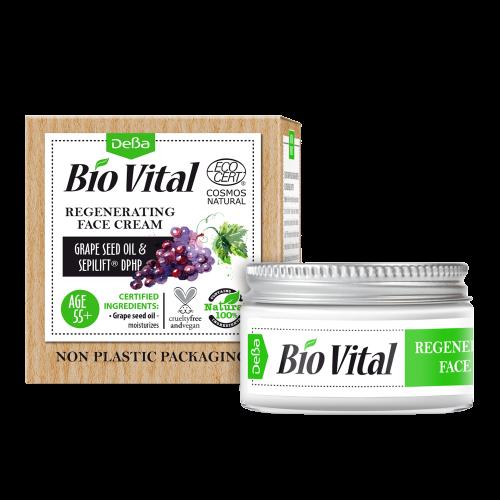 BioVital DeBa Regenerační krém na obličej 55+ 50ml