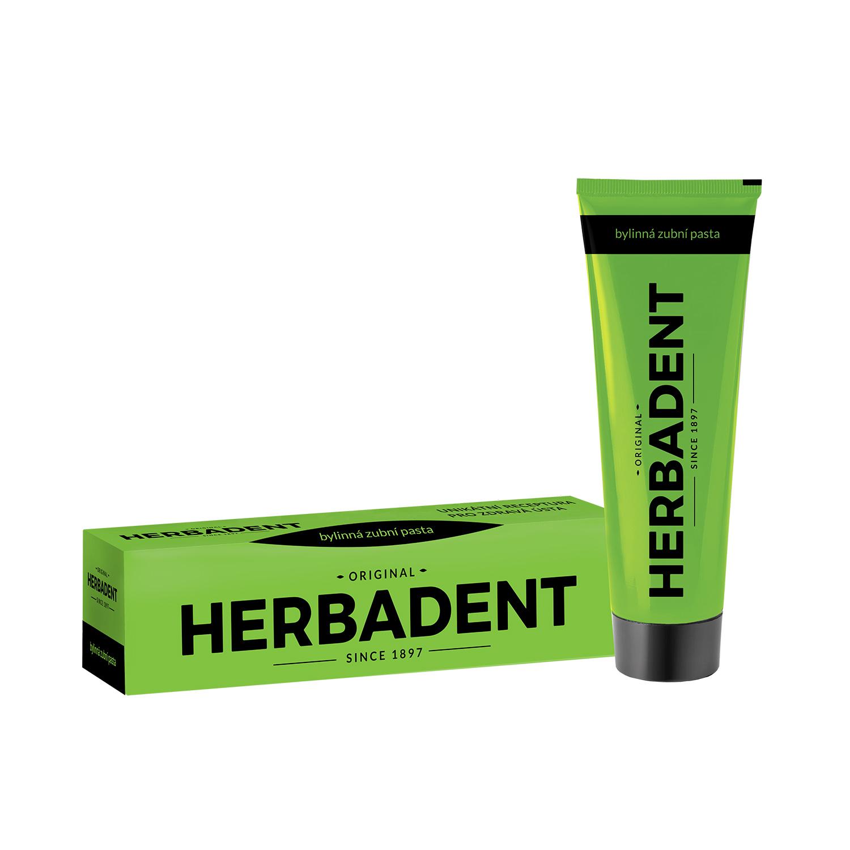 HERBADENT ORIGINAL bylinná zubní pasta 100g