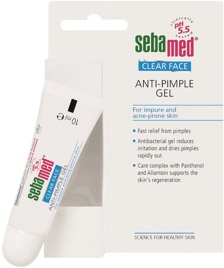 Sebamed Clear face gel proti akné 10ml