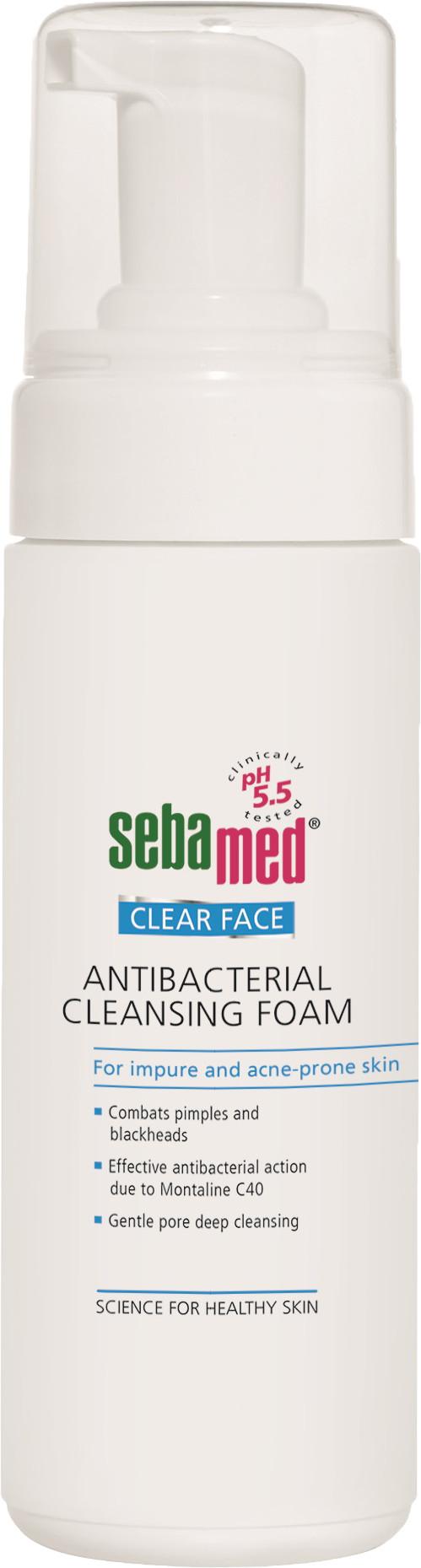 SEBAMED Clear Face antibakter. čisticí pěna 150ml