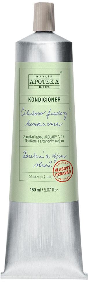 Organická kosmetika z Havlíkovy apotéky  Organická apotéka Cibulovo fazolový kondicionér 150ml