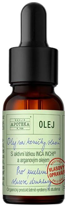 Organická kosmetika z Havlíkovy apotéky  Organická apotéka Olej na konečky vlasů 10ml