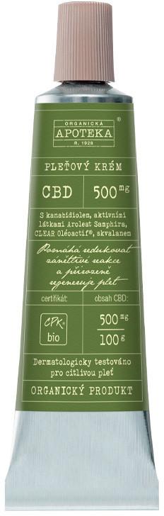 Organická kosmetika z Havlíkovy apotéky  Organická apotéka CBD pleťový krém 30ml