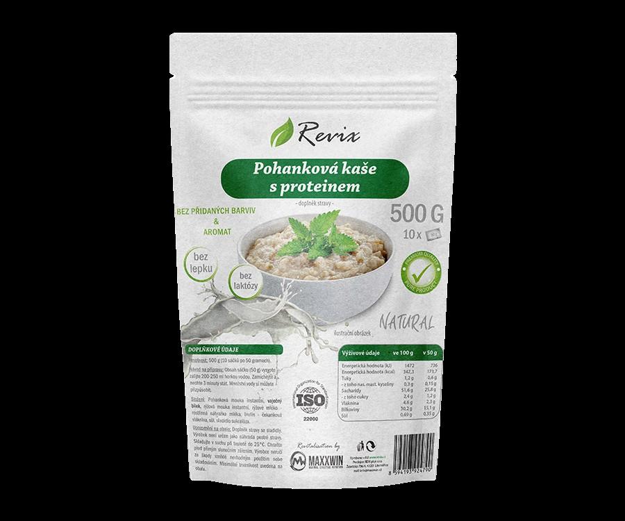 Revix Pohanková kaše proteinová natural 500g