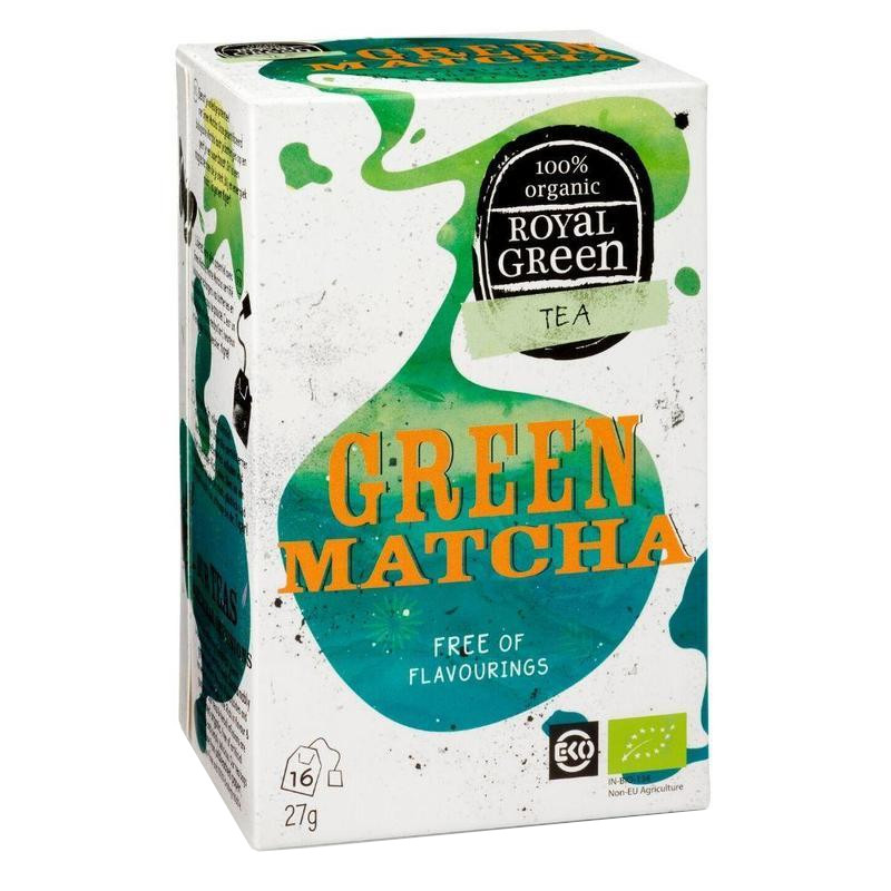 Royal Green zelený čaj Green Matcha BIO 16x1,7g