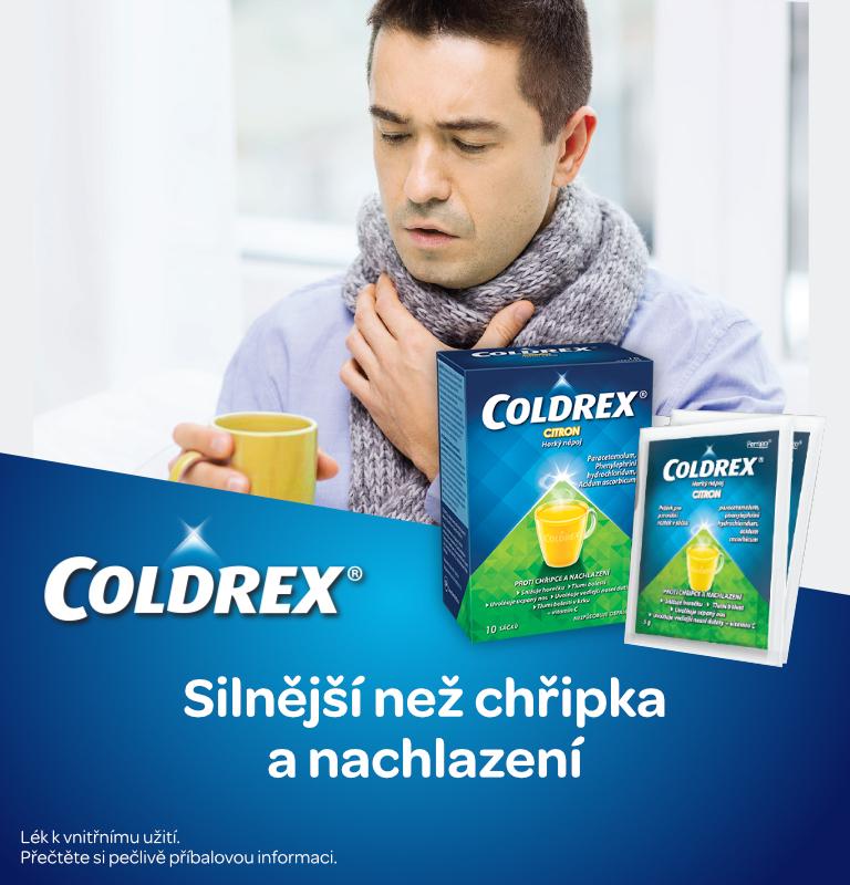 Coldrex Horký nápoj Citron