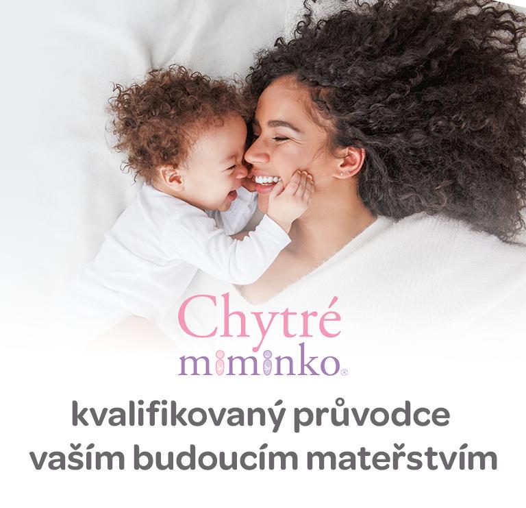 Chytre miminko, doplňky stravy, pro těhotné a kéjící matky, kyselina listová, DHA