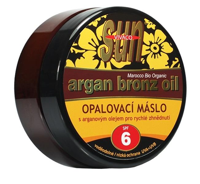 Sun Vital  Sun Vivaco SUN Bronz Opalovací máslo SPF 6 s argan.olejem 200ml