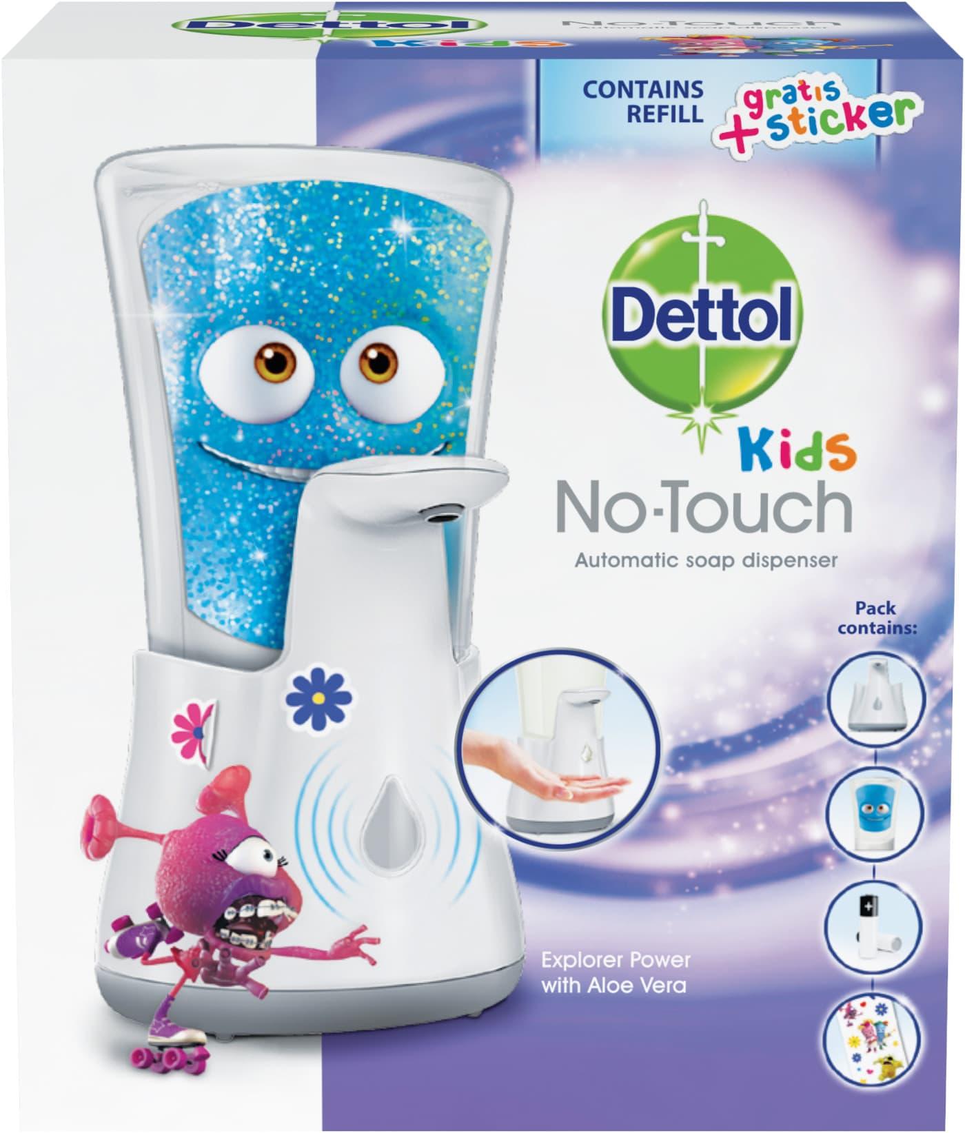 Dettol Kids Bezdotekový dávkovač mýdla dobrodruh 250ml