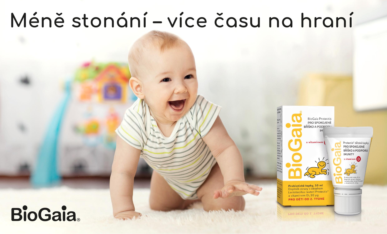 Biogaia, probiotika, kapky s vitaminem D