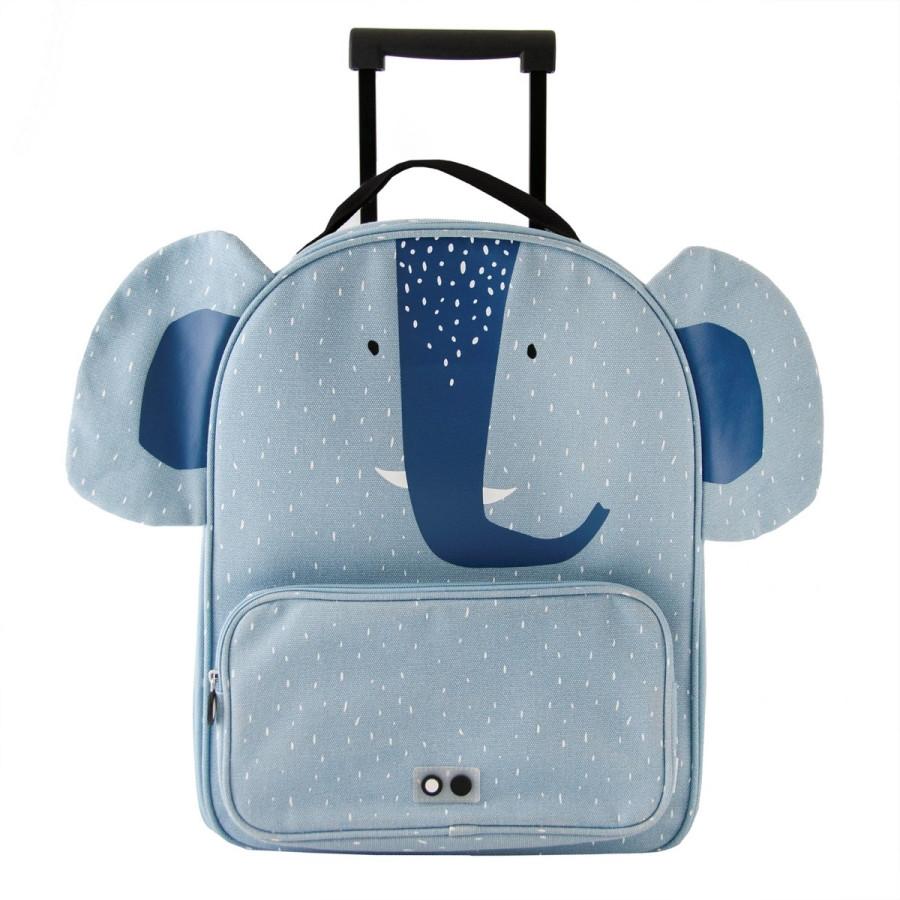 Trixie Dětský kufr na kolečkách - Mrs.Elephant 1ks