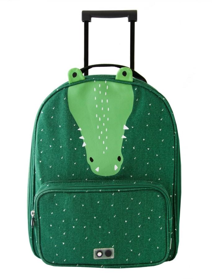 Trixie Dětský kufr na kolečkách - Mr.Crocodile 1ks