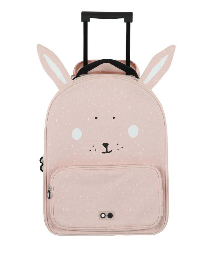 Trixie Dětský kufr na kolečkách - Mrs. Rabbit 1ks
