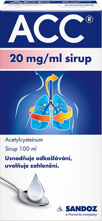 ACC® 20mg/ml Sirup 100 ml
