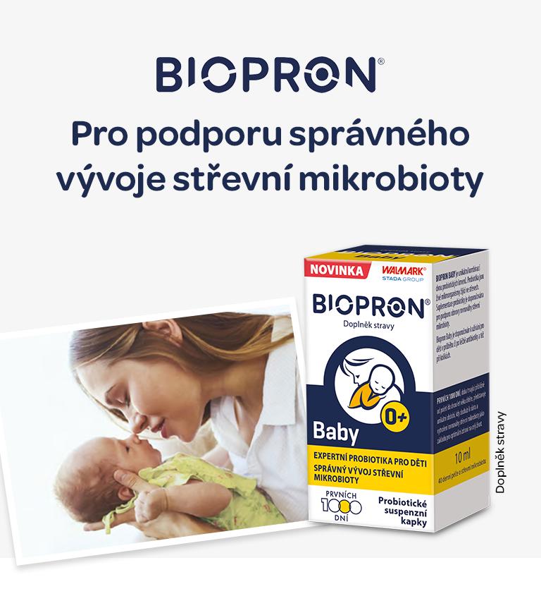 Biopron, kapky, probiotika, od narození