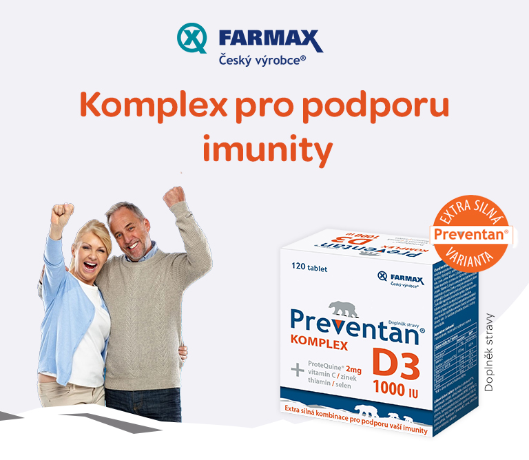 Preventan komplex, imunita, od 15 let