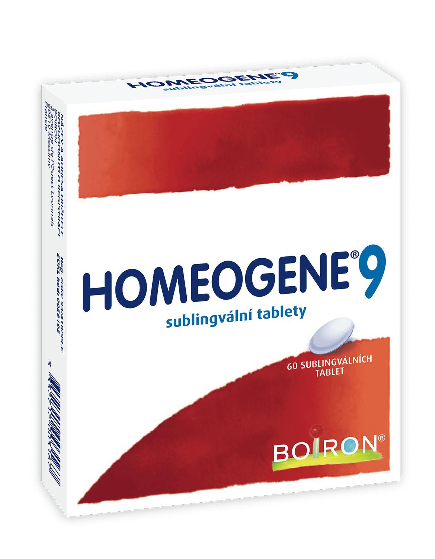 Homeogene 9 tablety 60