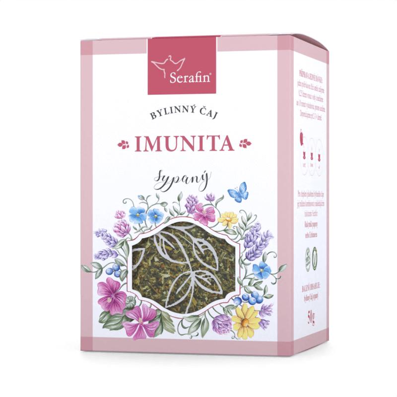 Serafin - byliny s.r.o. Imunita - bylinný čaj sypaný 50g