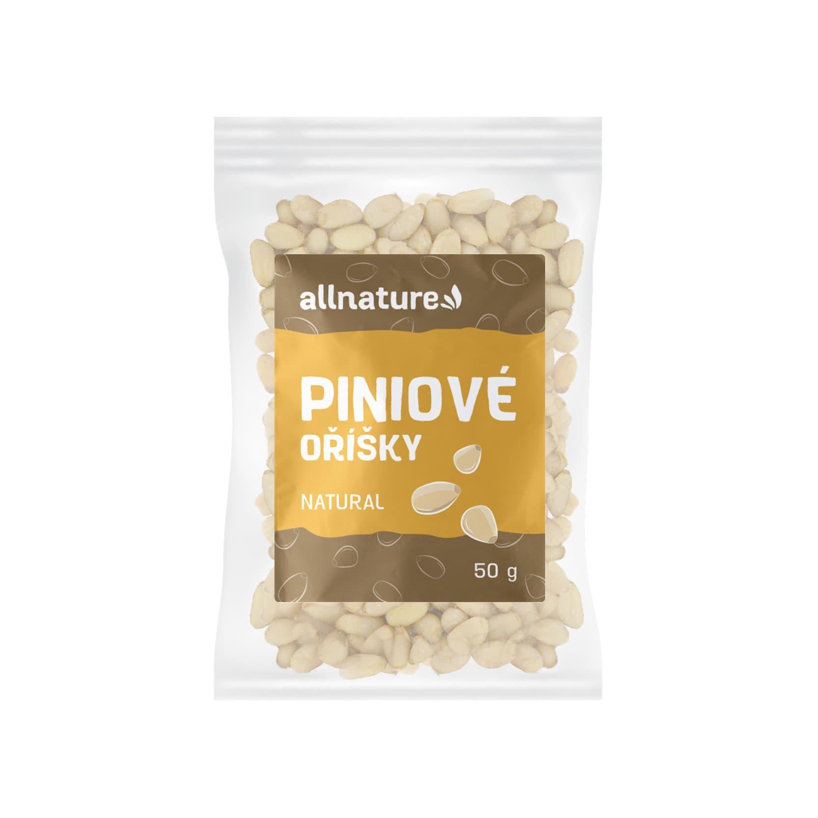 Allnature Piniové oříšky 50g