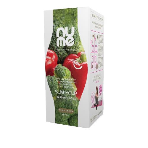 NuMe dietní polévka s kolagenem zeleninová 198g