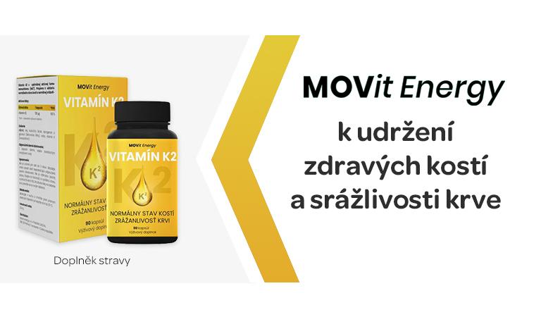 Vitamin K2, Movit Energy