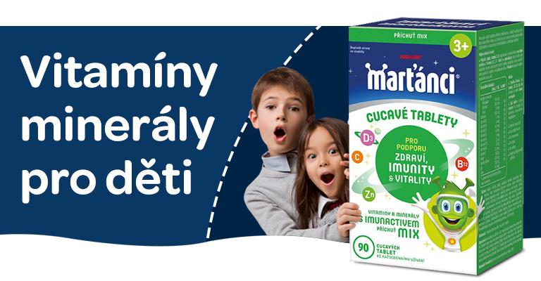pro děti, vitaminy, minerály